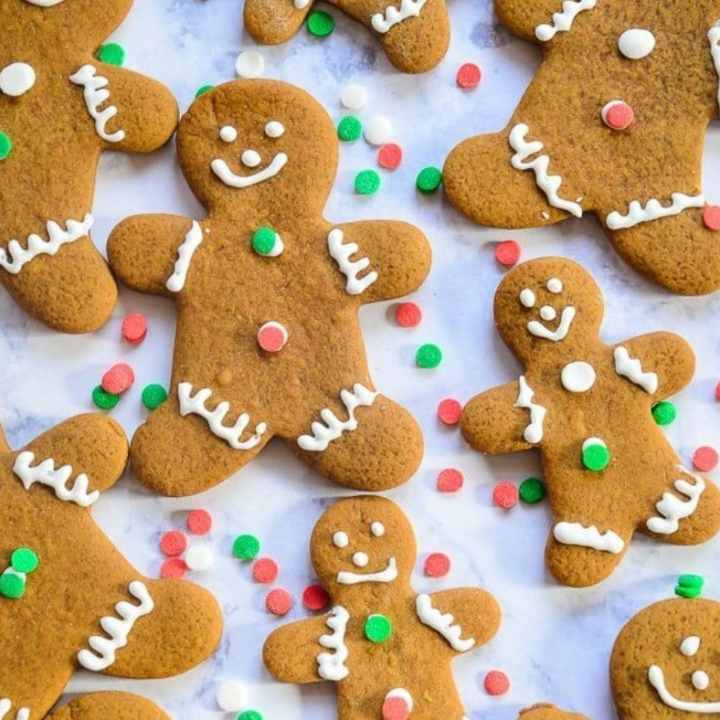 Soft and Chewy Gingerbread Cut Out Cookies
