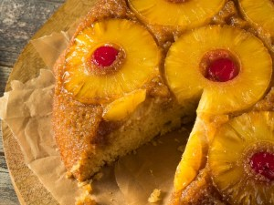Pineapple Upside Down Cake (1950's Inspired Recipe)