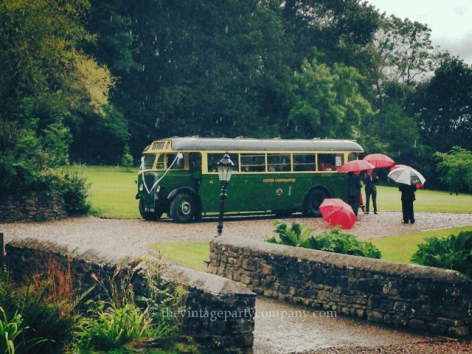 Vintage bus to hire