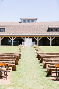 Aisle Verse Signs, Double Door Entrance at Sycamore Creek Family Ranch