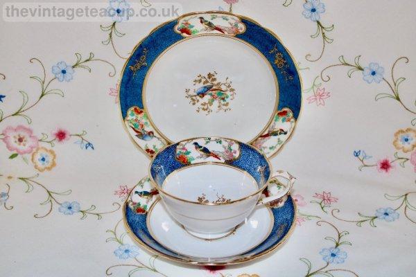 Antique Staffordshire Tea Trio