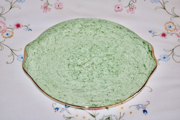 Royal Albert Green Plate