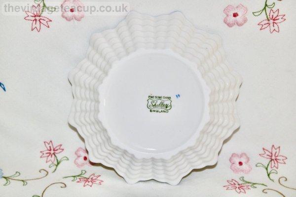 Shelley Cranesbill Butter Dish