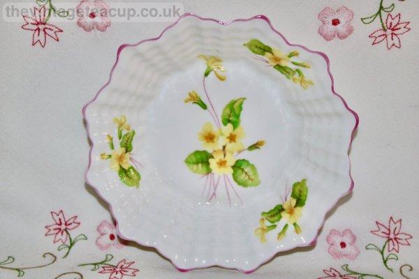 Shelley Primrose Butter dish