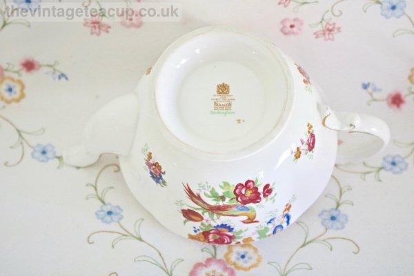 Rockingham Teapot Paragon China