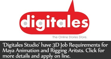 Digitales Studio have 3D Job Requirements for Maya Animation and Rigging Aritsts for Mobiles Games. Amit Mozar. thevirtualassist.net