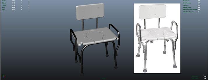 stool-3d-printing-stl-model