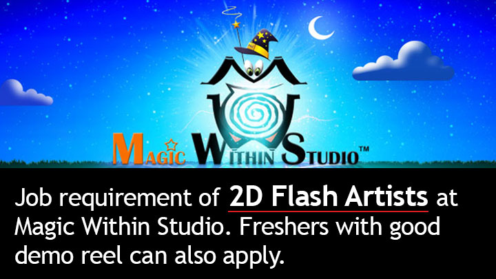 job-requirement-of-2D-flash-artists-at-magic-within-studio