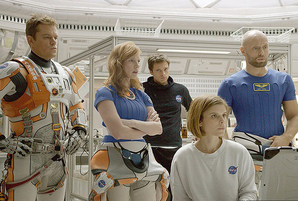 matt-damon-Jessica-Chastain-kate-mara