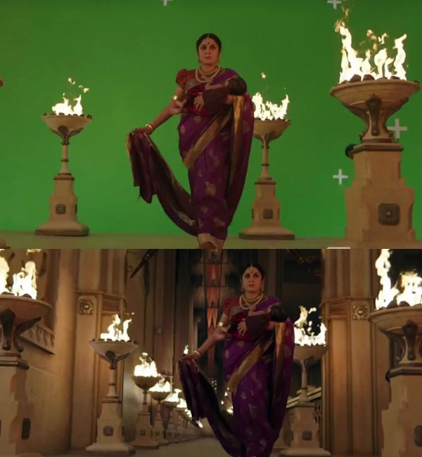 10 Reasons Why Bahubali Before and After VFX is Colossal: 1