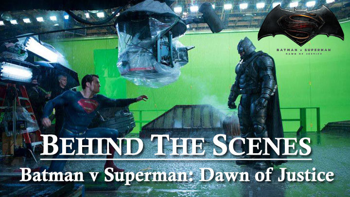 behind the scenes batman vs superman
