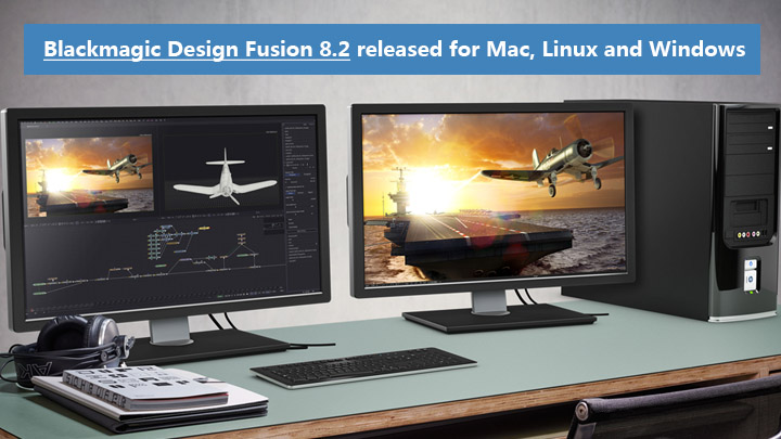 Blackmagic Design Fusion 8.2