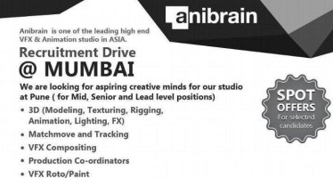 anibrain recruitment drive mumbai