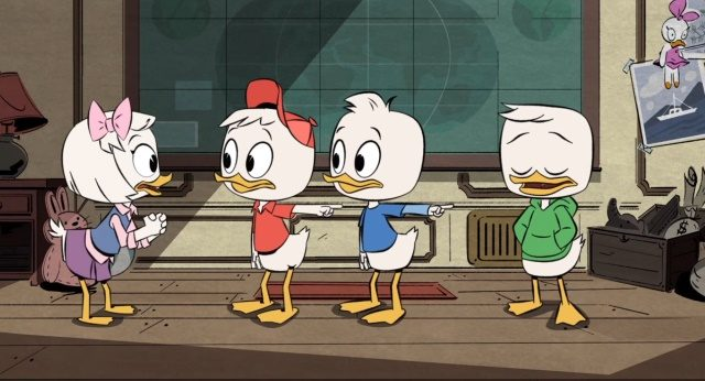 Ducktales And Dewey Webby 2017 Deviantart