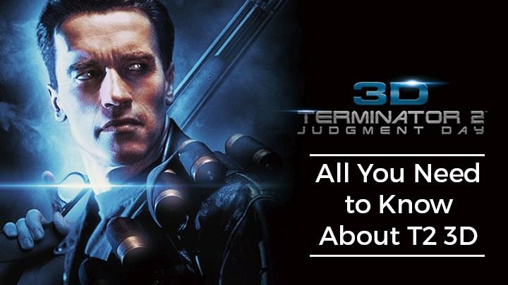 Terminator 2 3D 2017
