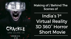 making of horror vr movie crackle 3d 360