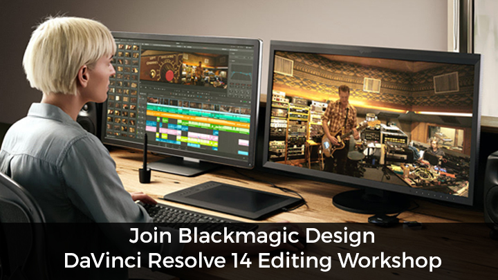 DaVinci Resolve editing workshop