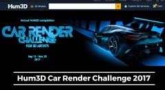 Hum3D Car Render Challenge 2017