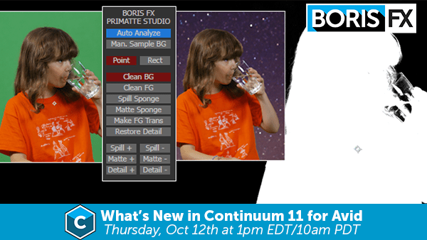 Continuum 11 for Avid Boris FX Webinar