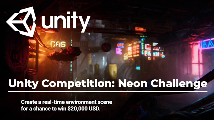 unity competition neon challenge