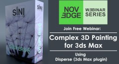 Complex 3D Painting for 3ds Max Disperse