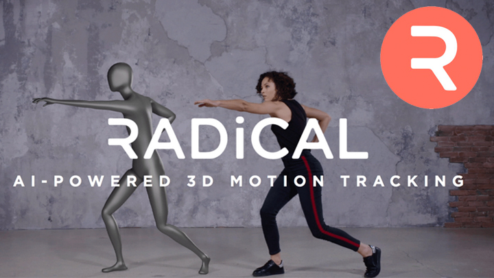 AI based Motion Capture RADiCAL