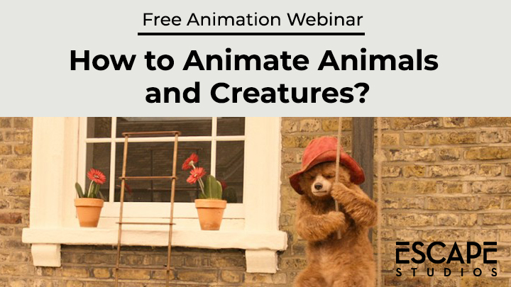 how to animate animals and creatures webinar