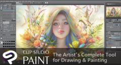Clip Studio Paint interview graphic software