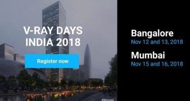 VRay Days India roadshow 2018 chaos group