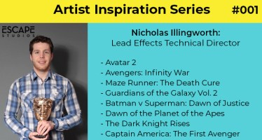 Artist Inspiration Series Nicholas FX Technical Director