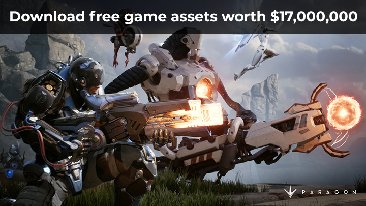 download free game assets paragon