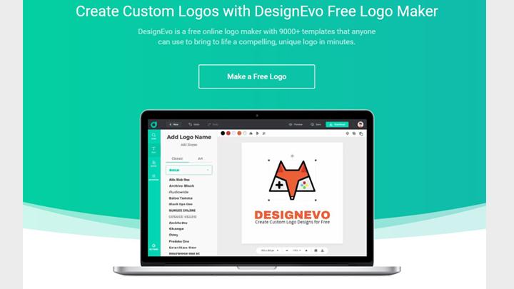 Make professional logo online DesignEvo