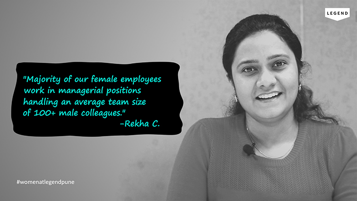 Rekha Chauhan, HR Manager, Legend Pune