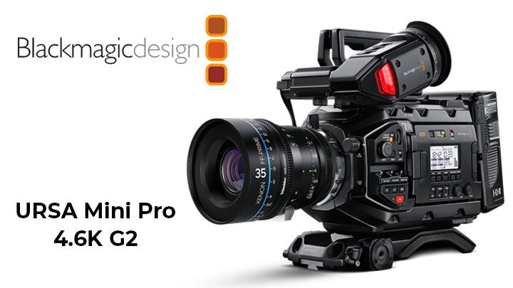new features ofURSA Mini Pro G2 Camera