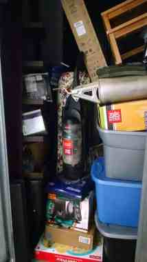 clutter inhibits a clean house