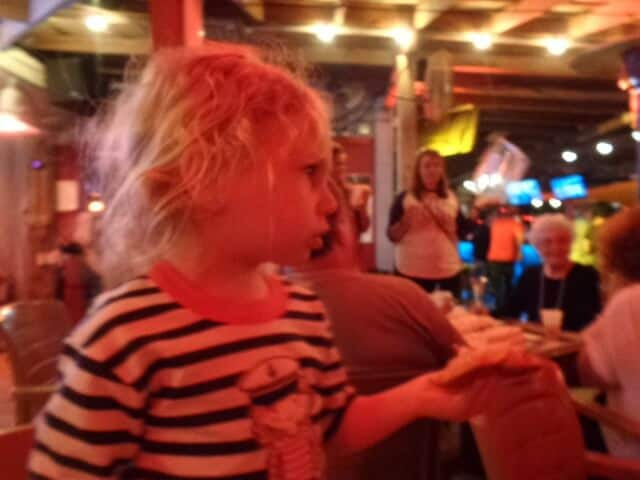 Chelsea Wilcox eats at Helen Back Pizza