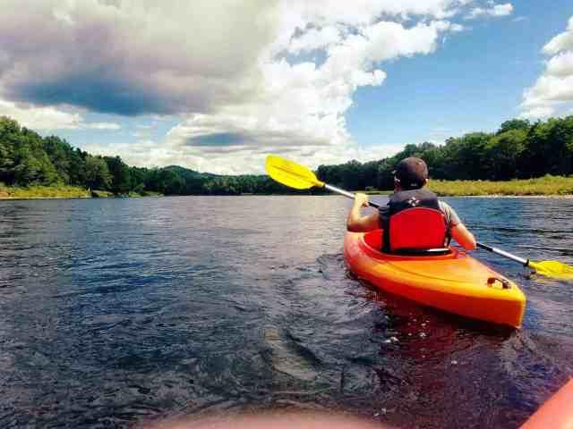 the wandering rv kayak