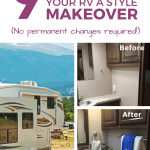 9 Simple Camper Makeover Ideas The Virtual Campground