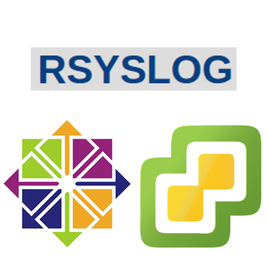 Centralized syslog server for vSphere environment with