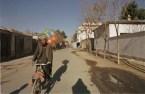 Kabul, Afghanistan -- Baloon sellers are back on the street in post-Taliban Kabul. 12/01 (Photo by Bikem Ekberzade)