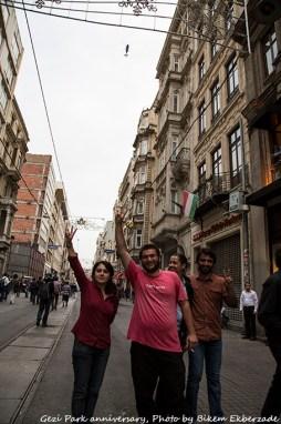 Istanbul Gezi Park Anniversary