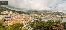 Views across Monaco