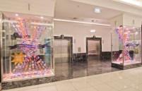 Myer Melbourne showcase windows
