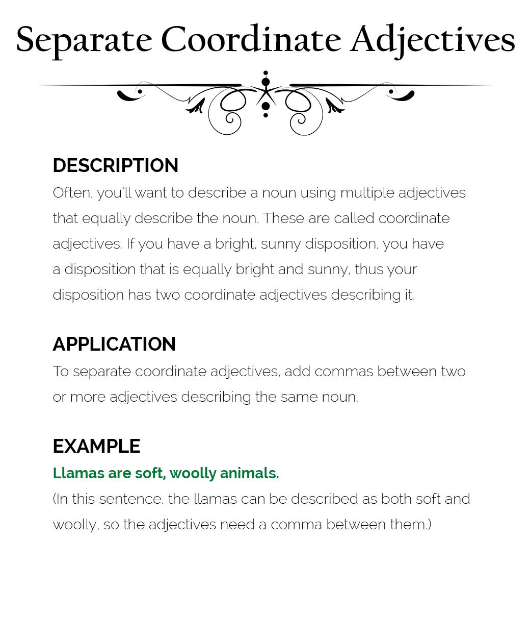 How To Use Commas The Visual Communication Guy