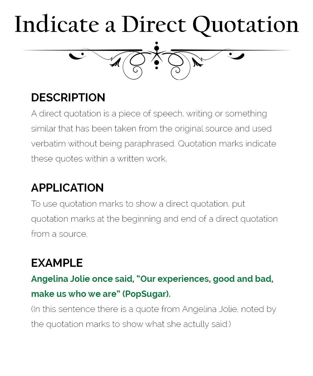 Quotations Marks Punctuation