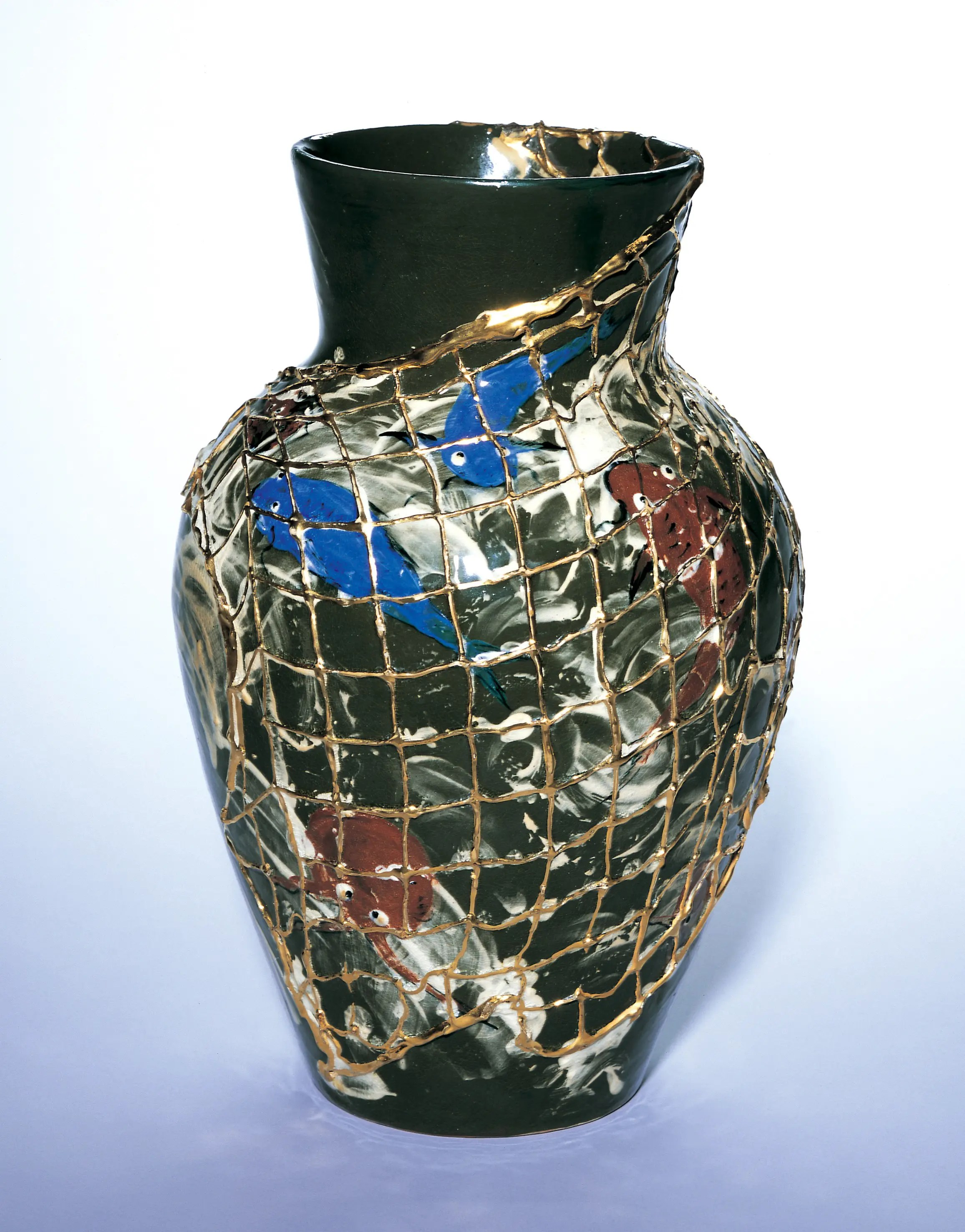 Vase from Women Breaking Boundaries Cincinnati Exhibit