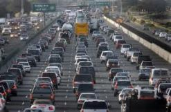Morning traffic/morning in America