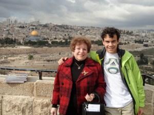 Me and my grandson 2013/Jerusalem