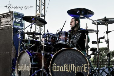 Goatwhore @ Gas Monkey Bar n' Grill, Dallas, TX. Photo by Corey Smith.