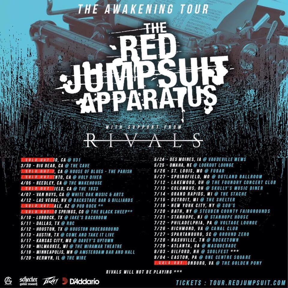RJA Rivals Tour